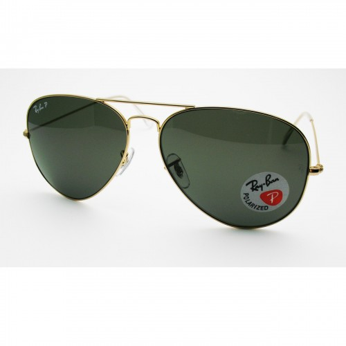 ray ban 3025-62 green polaroid