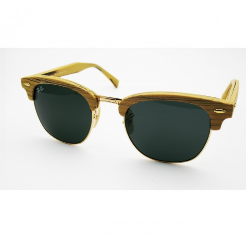 ray ban club master wood